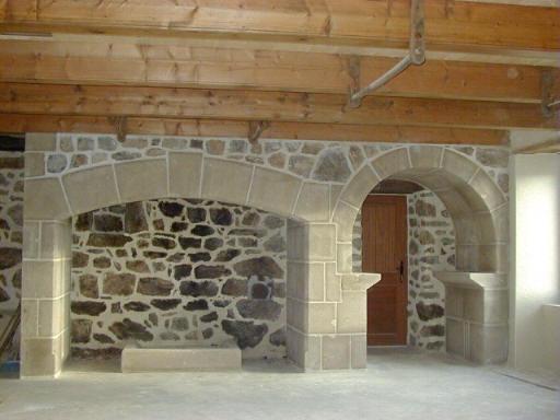 Chemin es - Nettoyer pierre de cheminee ...